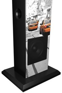 Sound Tower TW1 - Multimedia-Turmlautsprecher, New York Taxi (Bl