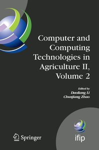 Computer and Computing Technologies in Agriculture 2 Volume 2
