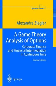 A Game Theory Analysis of Options