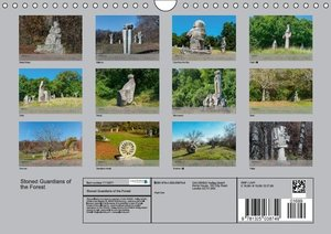 Stoned Guardians of the Forest (Wall Calendar 2015 DIN A4 Landsc