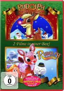 Rudolph Mit Der Roten Nase-Doppel-DVD Box