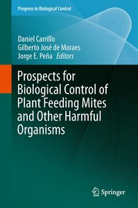 Prospects for Biological Control of Plant Feeding Mites and Othe