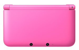 Nintendo 3DS XL Konsole - Pink inkl. Animal Crossing