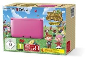 Nintendo 3DS XL Konsole - Pink inkl. Animal Crossing