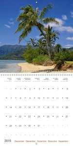 The Unknown Hawaii (Wall Calendar 2015 300 × 300 mm Square)