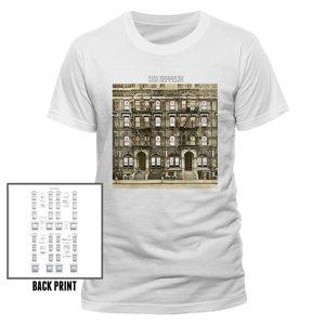 Physical Graffiti (T-Shirt,Weiss,Größe S)