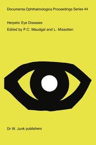 Herpetic Eye Diseases