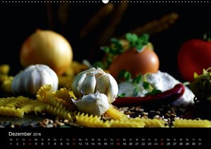 Pasta KreationenCH-Version (Wandkalender 2016 DIN A2 quer)