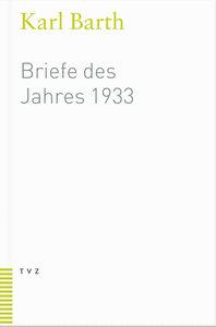 Briefe des Jahres 1933