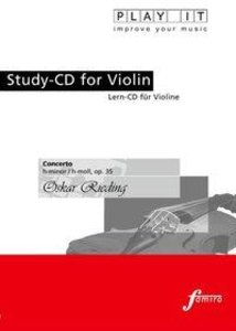 Study-CD for Violin - Concerto,H-moll,op.35