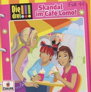 Die drei !!! 44: Skandal im Café Lomo! (Ausrufezeichen)