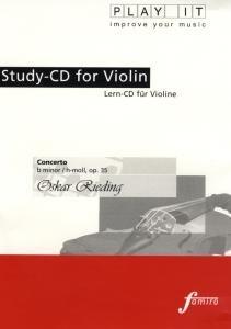 Study-CD for Violin - Concerto,H-moll,op.35