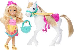 Barbie Hundesuche - Chelsea und Pony