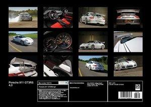 Porsche 911 GT3RS 4.0 (Poster Book DIN A3 Landscape)