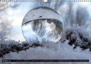 The world round as a ball (Wall Calendar 2015 DIN A3 Landscape)