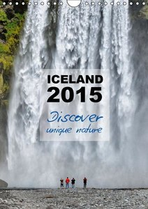 Iceland Calendar 2015 - Discover unique nature - UK Version (Wal
