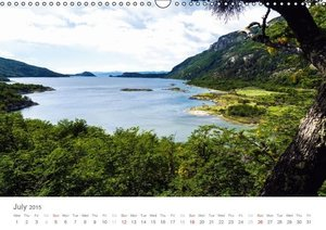 Tierra del Fuego UK-Version (Wall Calendar 2015 DIN A3 Landscape