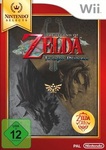 Zelda Twilight Princess Select. Nintendo Wii