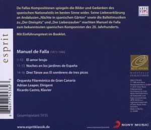 Esprit/Der Liebeszauber,Nächte in Span.Gärten