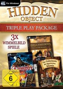 Hidden Object Triple Play Package. Für Windows XP/Vista/7/8