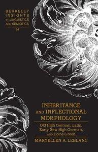 Inheritance and Inflectional Morphology