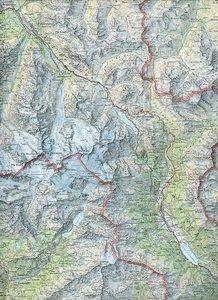 Swisstopo 1 : 100 000 Passo del Maloja