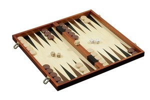 Philos 2510 - Schach-Backgammon-Dame-Set