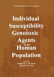 Individual Susceptibility to Genotoxic Agents in the Human Popul