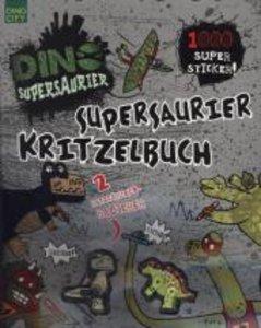 Supersaurier Kritzelbuch