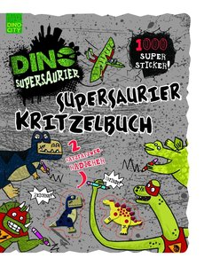 Supersaurier Kritzelbuch
