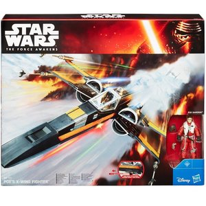 Hasbro B3953EU4 - Star Wars E7 Poe Damerons X-Wing Fighter