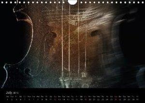 Musica Furiosa (Wall Calendar 2015 DIN A4 Landscape)