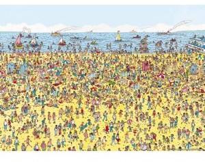 Jumbo Spiele 17251 - Wo ist Walter? Wheres Wally?: Am Strand, 50 - zum Schließen ins Bild klicken