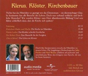 Klerus,Klöster,Kirchenbauer