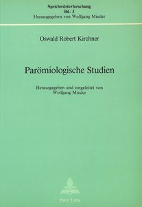 Parömiologische Studien