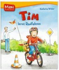Tim lernt Radfahren