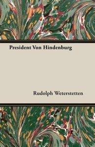 President Von Hindenburg