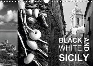 Black and White Sicily (Wall Calendar 2015 DIN A4 Landscape)