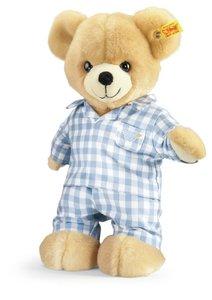 Steiff 110856 - Luis Teddybär mit Pyjama, 28 cm