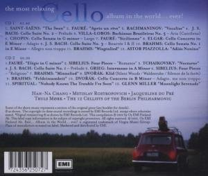 The Most Relaxing Cello Album In The World...