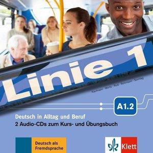 Linie 1 A1.2 - 2 Audio-CDs zum Kurs- und Übungsbuch