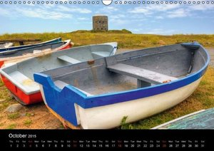 Jersey & Guernsey - Channel Islands (Wall Calendar 2015 DIN A3 L