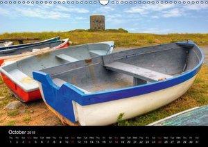 Jersey & Guernsey - Channel Islands (Wall Calendar 2015 DIN A3 L