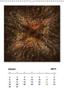 Ästhetisches Chaos - Wandlungen (Wandkalender 2017 DIN A3 hoch)