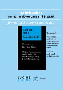 Ökonomische Analysen der Mitbestimmung auf Betriebs- und Unterne