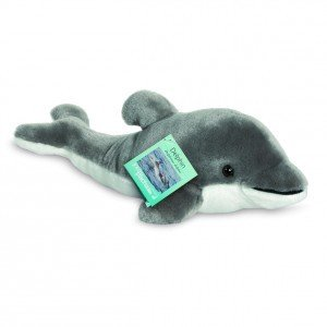 Teddy Hermann 90036 - Delphin, 35 cm