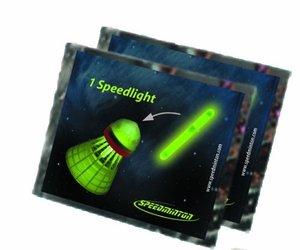 Speedminton Speedlights 2013, 8 Stück, gelb
