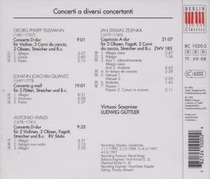 Concerti A Diversi Concertanti