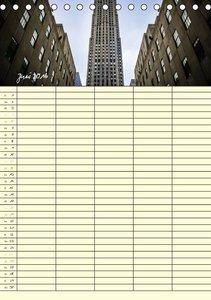 New York Familienplaner (Tischkalender 2016 DIN A5 hoch)