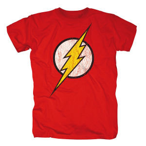 Flash Logo,Shirt,GR XL,Rot